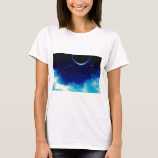 Camiseta Céu nocturno estrelado