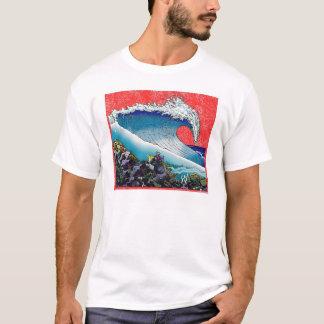 Camiseta Céu vermelho