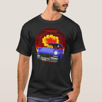 """Camiseta CFTP """"réguas atômicas"""" no preto"""