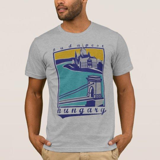 Camiseta Chain Bridge - Budapest Forever! collection