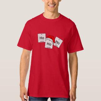Camiseta Chalaça do Natal do elemento da química do Holmium