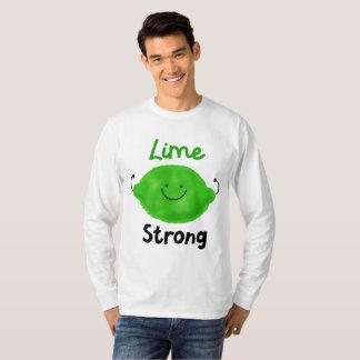 Camiseta Chalaça positiva do limão - limão forte