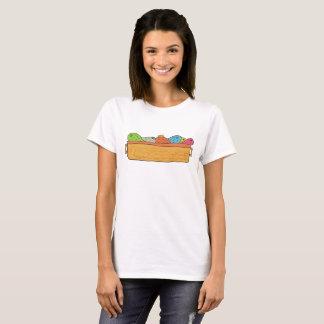 Camiseta Chaleira de peixes