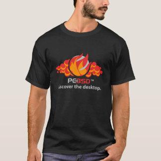 Camiseta Chama de PC-BSD