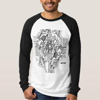 Camiseta Chama gêmea - harmonização SUA e dela