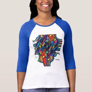 Camiseta Chama gêmea na cor