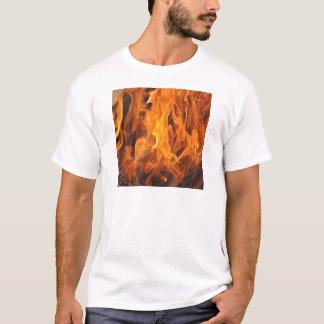 Camiseta Chamas - demasiado quentes a segurar
