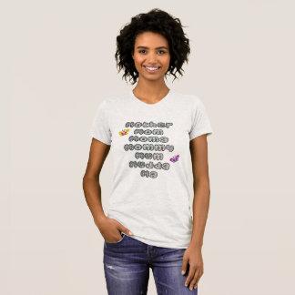 Camiseta Chame meu nome - dia das mães