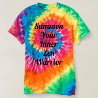 Camiseta Chame seu guerreiro interno do zen
