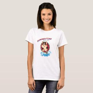 Camiseta Chameja o corgi - verão