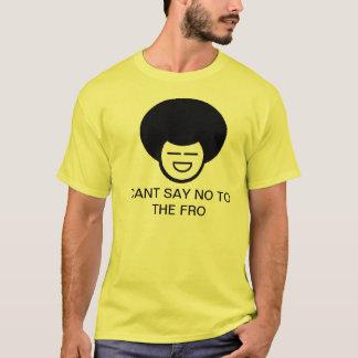 Camiseta Chanfrado diga não ao para
