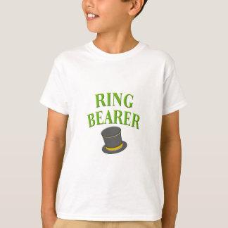 Camiseta chapéu alto do ringbearer-