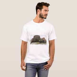 Camiseta Chapéu, arma e dentes retos de vaqueiro
