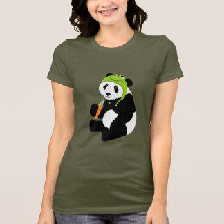 Camiseta Chapéu do sapo da panda