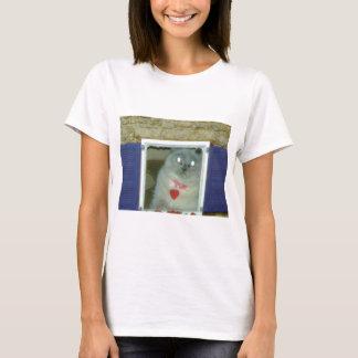 Camiseta Chapéu Himalaia do gatinho do gato, T, mousepad,