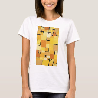 Camiseta Characters in yellow - Paul Klee
