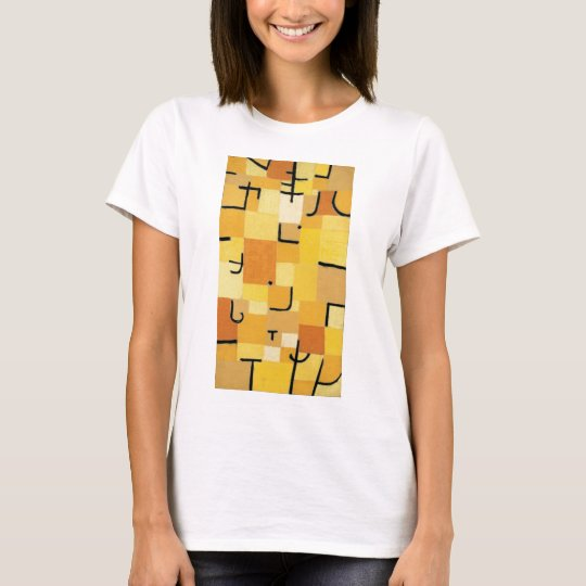 Camiseta Characters in yellow - Paul Klee
