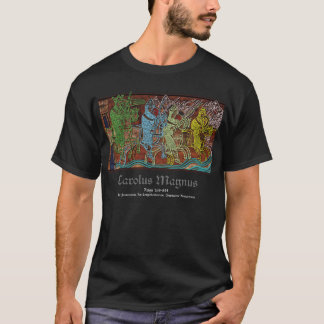 Camiseta Charlemagne (t-shirt preto)