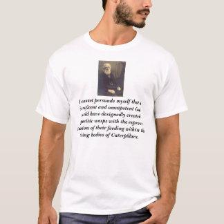 Camiseta Charles Darwin, eu não posso persuadir-se que…