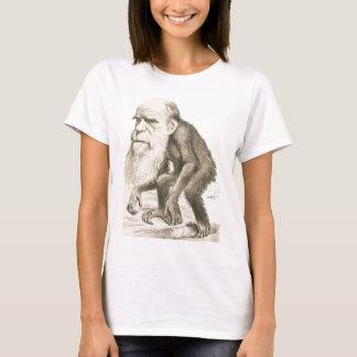 Camiseta Charles Darwin o homem do macaco