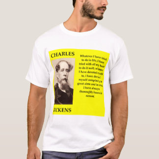 Camiseta Charles Dickens
