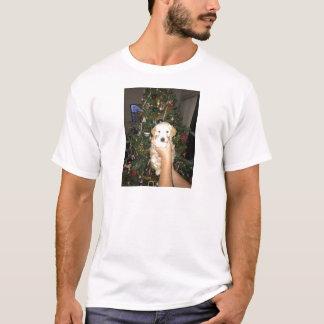Camiseta Charlie o filhote de cachorro de GoldenDoodle no