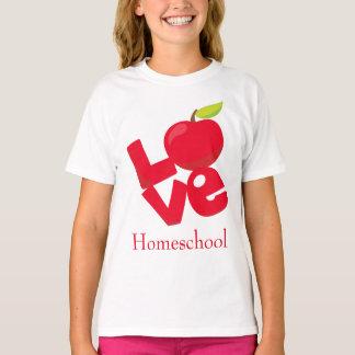Camiseta Charming Homeschool Love