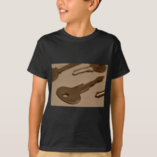 Camiseta Chave entre a posição