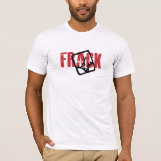 Camiseta Chave no t-shirt da máquina de Fracking