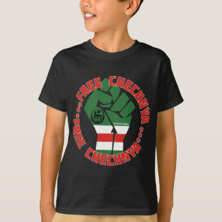 Camiseta Chechnya livre