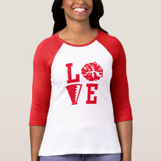 Camiseta Cheerleaderes amor, elogio