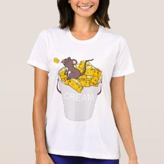 Camiseta chees de creme do rato