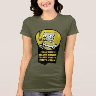 Camiseta Cheesey cremoso