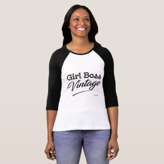 Camiseta chefe da menina