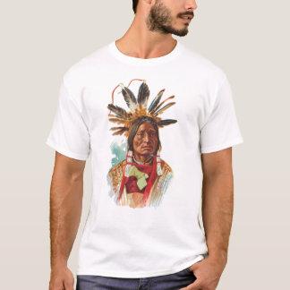 Camiseta Chefe de Sioux do Blackfoot: Muitos chifres