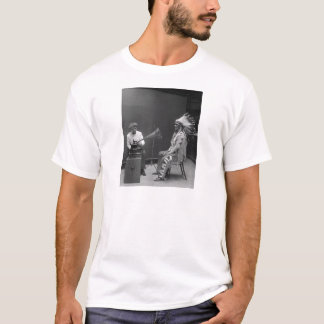 Camiseta Chefe do Blackfoot da gravação audio de Frances