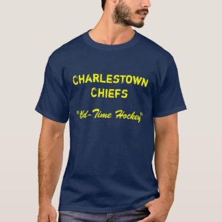 """Camiseta Chefes de Charlestown, """"hóquei à antiga """""""