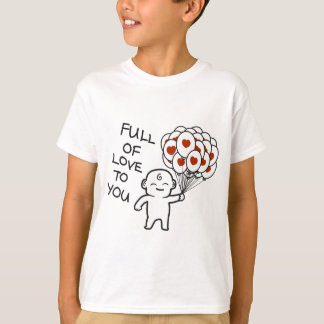 Camiseta Cheio do amor a você