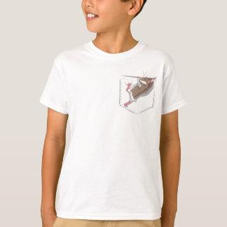 Camiseta Cheio do bolso da luz do sol