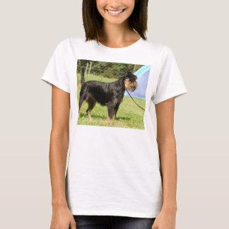 Camiseta cheio do griffon de Bruxelas