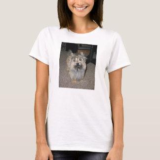 Camiseta cheio do terrier de monte de pedras