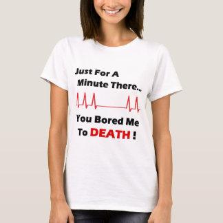 Camiseta Cheio furado da morte