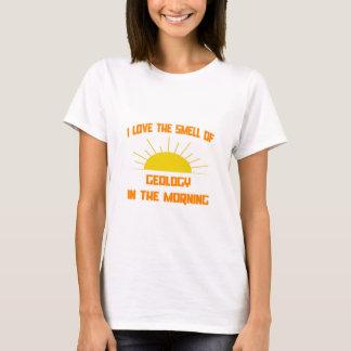 Camiseta Cheiro da geologia na manhã