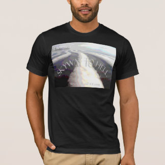 "Camiseta Chemtrails/""Skyway ao inferno """
