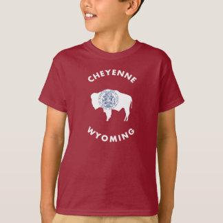 Camiseta Cheyenne Wyoming
