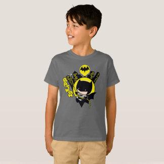 Camiseta Chibi Batman que escala a cidade