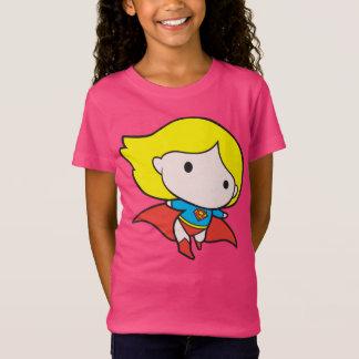 Camiseta Chibi frente e verso Supergirl