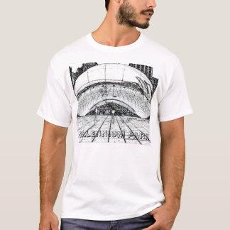 Camiseta chicago_bean.2, parque do milênio