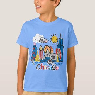 Camiseta Chicago caçoa a obscuridade