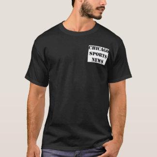 Camiseta Chicago ostenta a notícia